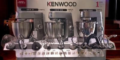 Prodej kvalitních robotů a přístrojů značky Kenwood