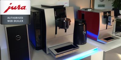 Jsme autorizovaný prodejce kávovarů Jura