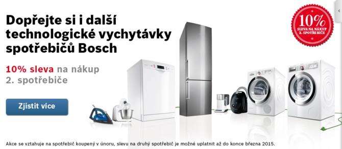 Akce Bosch - 10% sleva na druhý výrobek